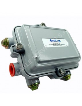 Acoplador direccional  (directional coupler) troncal de 16 dB 5-1000 MHz