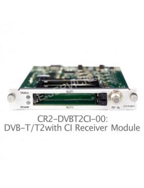 Módulo de recepción CR2-DVBT2CI-00 de 4 canales para plataforma digital CMP200