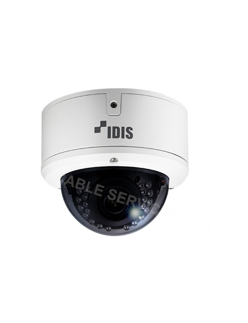 DirectCX TC-D4222WRX IDIS Cámara domo IR resistente al vandalismo Full HD