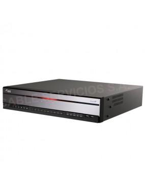 DR-4316PS DirectIP Grabador NVR 4K H.265 16 canales UHD 480ips IDIS