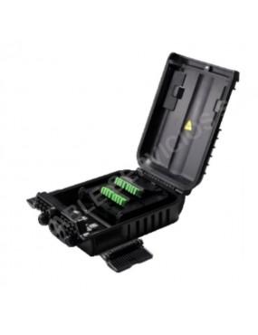 Caja NAP con capacidad de  empalme de 16 fibras IP65 PC+ABS