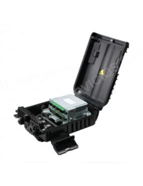 Caja de terminación de FO IP65 con capacidad de  empalme de 16 fibras IP65 PC+ABS