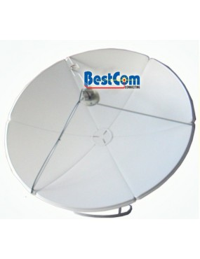 Antena satelital banda C en...