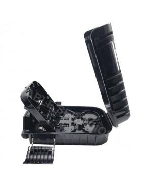 Caja NAP de 16 puertos, splitter PLC 1x16 con conectores SC/APC para montaje aéreo IP65
