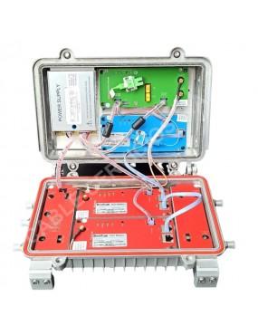 Máster EOC todo en uno (ONU + OR + 2 * EOC)  puertos de salida mixta de TV + datos WDM 60V