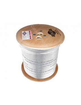 Cable coaxial RG-6 60%...