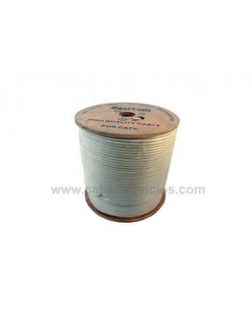 Cable coaxial RG-6 al 90 %...