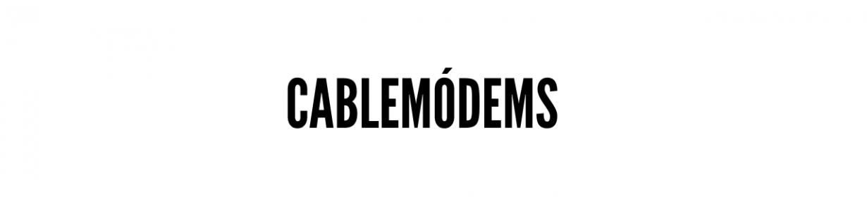 Cablemódems