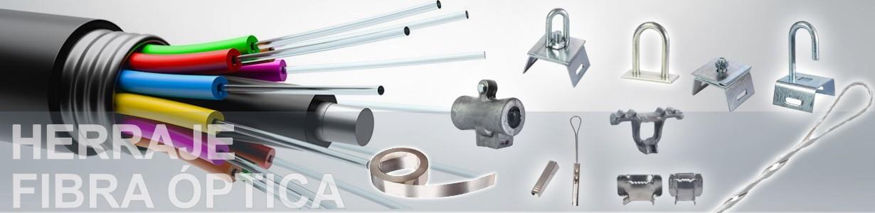 Herrajes  fibra óptica