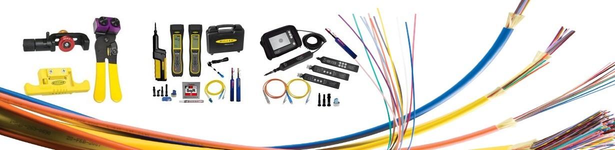Para preparación de  fibra óptica