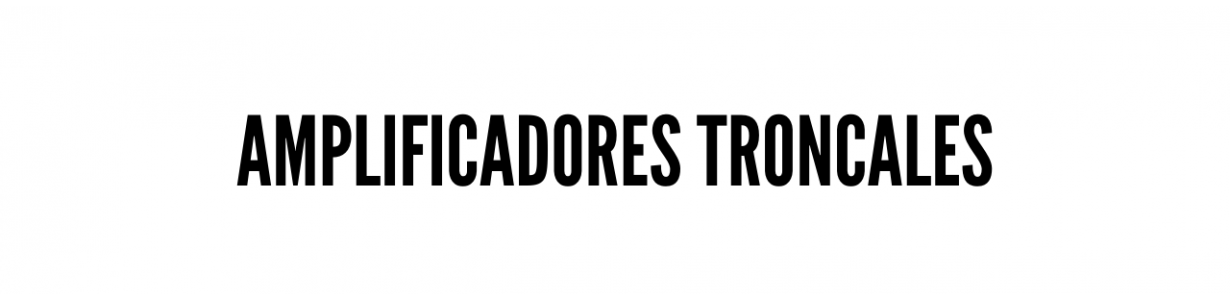 Troncales