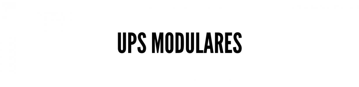 UPS Modulares