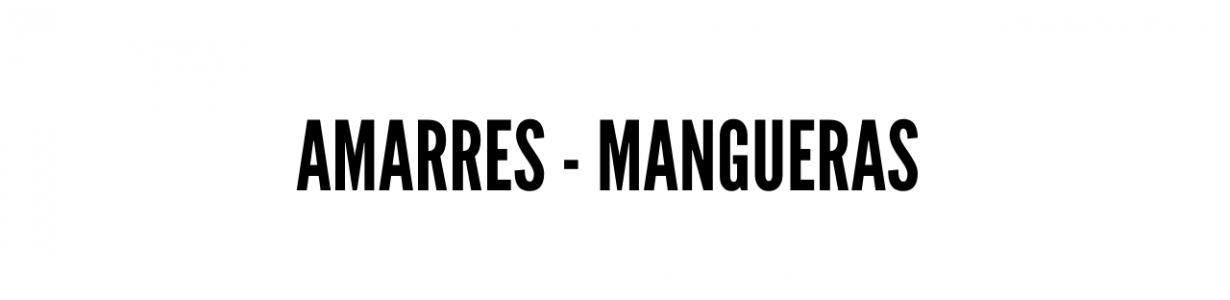 Amarres - mangueras