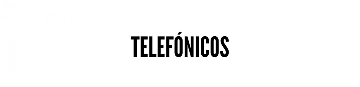 Telefónicos