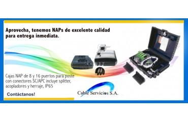 Aprovecha, tenemos NAPS de excelente calidad para entrega inmediata.